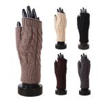 AO221 Knitted Fingerless Gloves