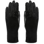 AO239 Faux Fur Gloves, Black