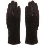 AO239 Faux Fur Gloves, Brown