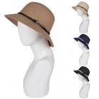 AO3008 Anchor Charm Woven Hat
