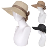 AO3017 Woven Hat W/ Bow