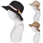 AO3020 Pom Pom Woven Hat