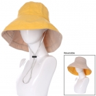 AO3084 Reversible Solid Bucket Hat, Mustard