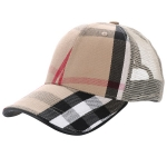 AO3087 Plaid Mesh Cap