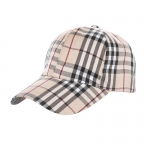 AO3103 Plaid Pattern Cap