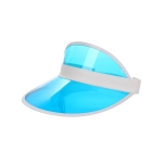 AO3109 Solid Color Sun Visor, Blue