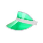 AO3109 Solid Color Sun Visor, Green