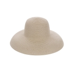 AO3110 Bowler Style Straw Hat, Beige