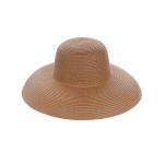 AO3110 Bowler Style Straw Hat, Khaki