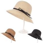 AO3022 Woven Hat W/ Belt Accent