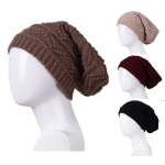 AO380 KNITTED BEANIE HAT
