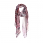 AO5014 Python & Chain Faded Light-weight Scarf, Pink