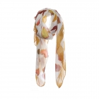 AO5030 Little Hearts Pattern Scarf, Mustard