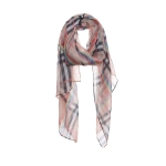 AO5032 Rainbow & Plaid Pattern Scarf