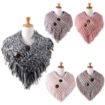 AO521 TWO-TONE KNITTED NECKWARMER