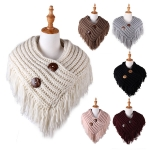 AO522 Solid Knitted Neck Warmer