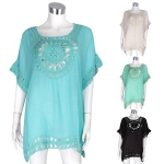 AO6013 Crochet Cover Up