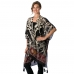 AO6018 Patterned Cover Up Cape
