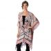 AO6021 Patterned Cover Up Cape