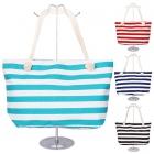 AO703 Stripe Beach Bag