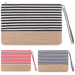 AO725 Striped Pouch