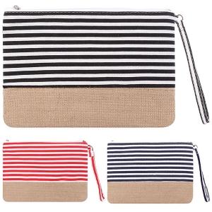 AO725 Striped Pouch