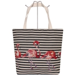 AO740 Flamingo Canvas Tote Bag