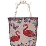 AO741 Flamingo Canvas Tote Bag