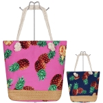 AO743 Pineapple Tote Bag