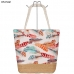 AO744 Feather Tote Bag