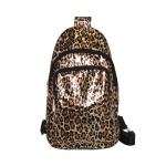AO8012 Gold Leopard Pattern Sling Bag