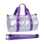 AO8020 Iridescent Sport Duffel Bag, Purple