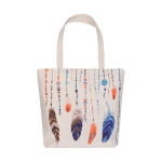 AO8031 Dream Catcher Feather Pattern Canvas Bag