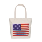 AO8038 American Flag Pattern Canvas Bag