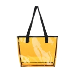AO8044 Clear Transparent Tote bag, Mustard