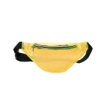 AO869 Transparent Neon Color Fanny Pack, Mustard