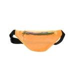 AO869 Transparent Neon Color Fanny Pack, Orange