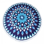 KK240-124 ROUND BEACH TOWEL MAT