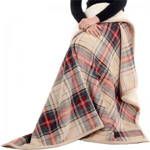 B-03 Check Pattern Knee Blanket