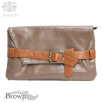BAG450 Leather Clutch Bag