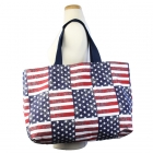 BY1146 American Flag Big Shoulder Bag (Tote)