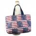 BY1146 American Flag Big Shoulder Bag (Tote)