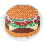 KK240-111 ROUND BEACH TOWEL MAT