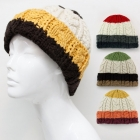 CAP055 Handmade Mix Colored Knit Hat