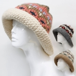 CAP070 Handmade Knit Hat