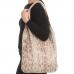 CB0932 Python Pattern Slouchy Tote Bag