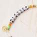 """CB-1129 """"Blessed"""" Lettering Beads Bracelet"""