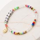 """CB-1130 """"Happy"""" Lettering Beads Bracelet"""