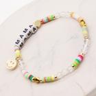 """CB-1132 """"Mama"""" Lettering Beads Bracelet"""