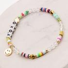"""CB-1133 """" XOXO"""" Lettering Beads Bracelet"""